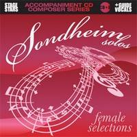 Sondheim Solos - Female Selections - CD of Vocal Tracks & Backing Tracks