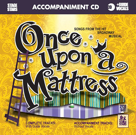 Once Upon a Mattress - 2 CDs of Vocal Tracks & Backing Tracks