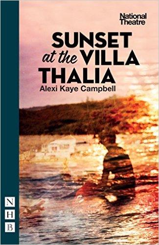 Sunset at the Villa Thalia