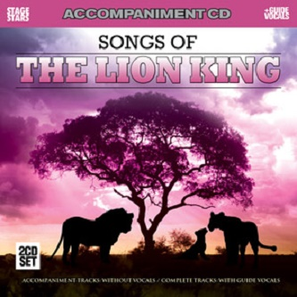 The Lion King - 2 CDs of Vocal Tracks & Backing Tracks